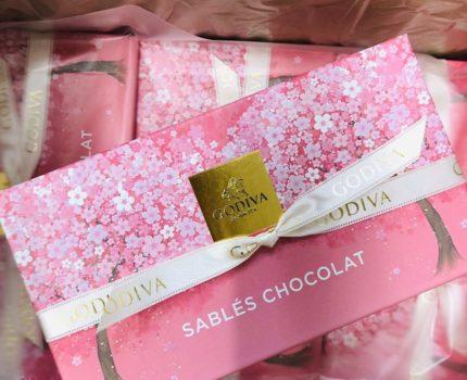 新品★8箱セット!ゴディバ サブレショコラ桜 5個入 訳あり!