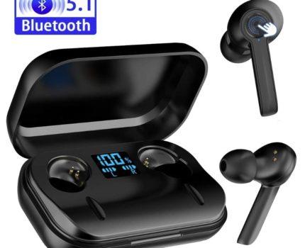 ワイヤレスイヤホン Bluetooth iPhone Android IPX6防水 左右分離 自動ペアリング タッチ式 Hi-Fi 高音質 イヤピース ★新品、未使用★