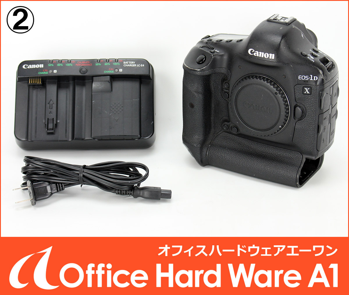 キャノン Canon / デジタル一眼レフカメラ EOS-1D X / レリーズ回数:230000以下 / 訳あり動作品 【中古 1DX】#T 2