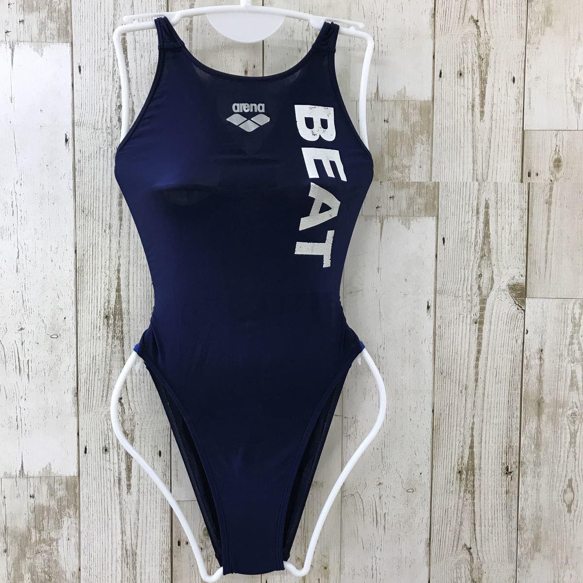 【ha27ss】競泳水着 arena SSサイズ BEAT スイミングスクール 選手用