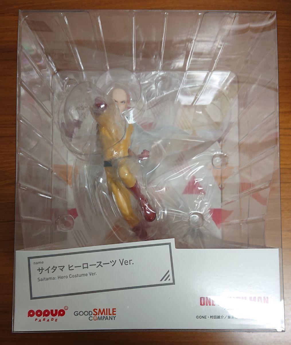 F18】(未開封)POP UP PARADE ワンパンマン サイタマ ヒーロースーツ Ver.