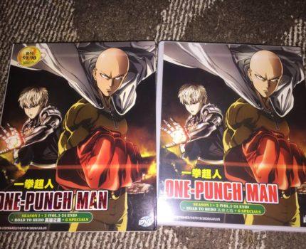 輸入盤DVD-BOX ワンパンマン 全話収録 One Punch-Man シーズン1~2 全24話+OVA7話