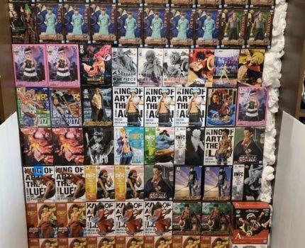 ワンピース フィギュア DXF グラメン 造形王 一番くじ KOA BWFC DRAMATIC SHOWCASE 全124個セット 新品・未使用・未開封品 ONE PIECE