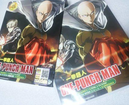 輸入海外正規版 ワンパンマン One Punch-Man アニメ 全シーズン1~2 全24話+OVA7話 コンプリート DVD ボックス 4枚組 DVD BOX 全話収録