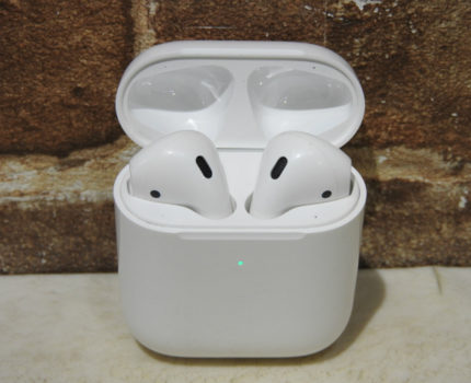 1円~ 中古 Apple AirPods A1938 A2031 A2032 第2世代 アップル ワイヤレスイヤホン その15 ○