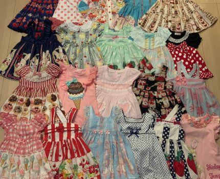 総額45万超! 美品 シャーリーテンプル ベビー服 子供服 90cm 夏服 ワンピース&ジャンパースカート 格安出品