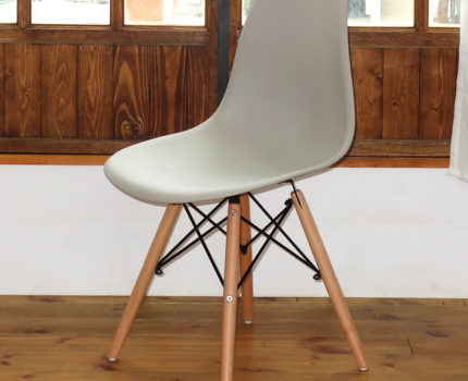 イームズ DSW シェルチェア 椅子 Eames チェア 家具 DSWチェア オフィスチェア ダイニング DSR 訳ありアウトレットライトグレー/NT BB039