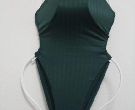 スピード 競泳水着 S2000 背面ジッパー アクアブレード 美品 Mサイズ 激レア 強光沢 ハイレグ speedo ミズノ 麗