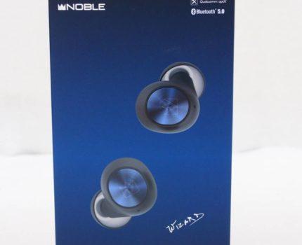 ◆中古・美品◆ 完全ワイヤレスイヤホン Noble Audio FALCON TWS apt-X対応 日本正規品 高音質 防水 高速充電◆