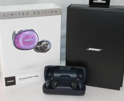 【人気商品】BOSE SoundSport Free wireless Limited Edition ワイヤレスイヤホン ボーズ■