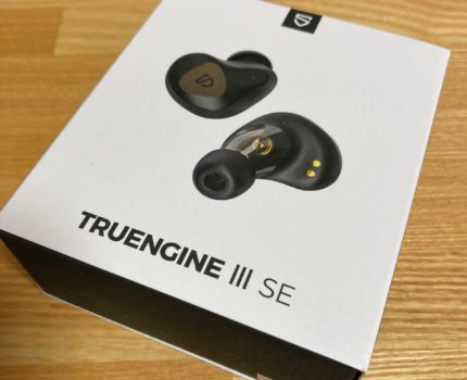Bluetooth 完全ワイヤレスイヤホン Soundpeats Truengine 3 se 難ありジャンク品