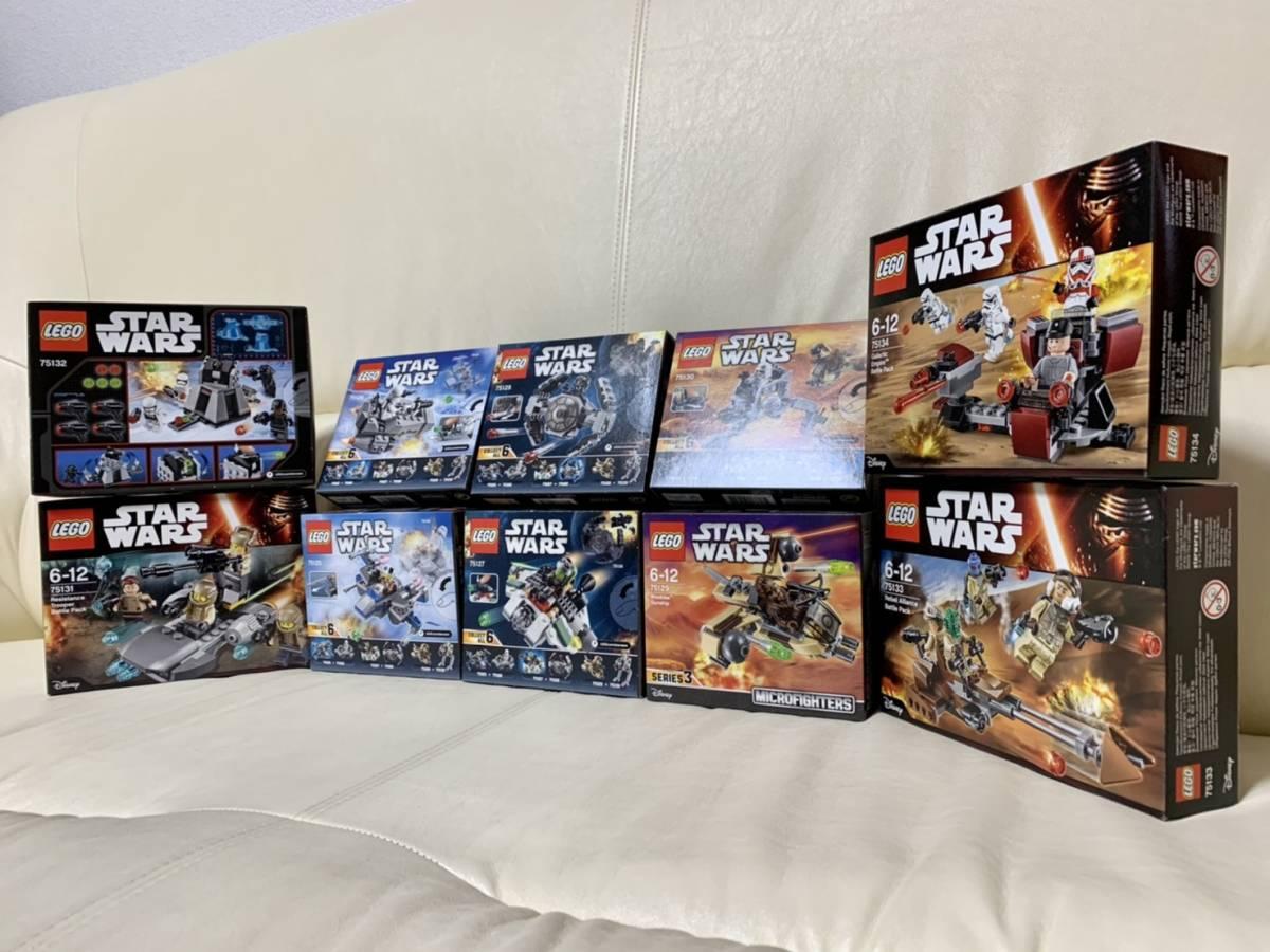☆レゴ (LEGO) スター・ウォーズ 10セット④☆・75125・75126・75127・75128・75129・75130・75131・75132・75133・75134・新品・未開封!