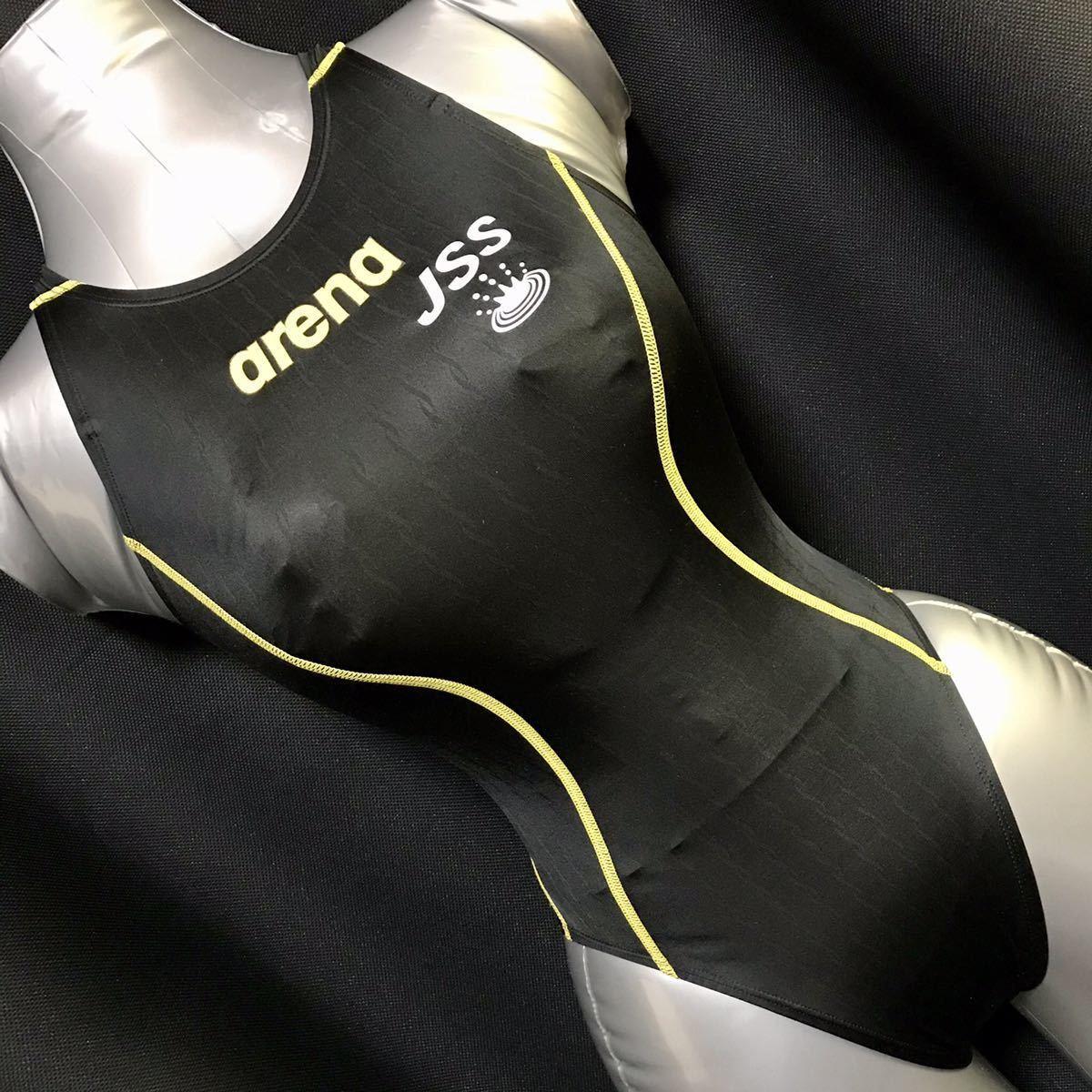 JSS 選手用 ハイカット 競泳水着 SSサイズ ARN-7021W X-PYTHON2 Xパイソン2 arena アリーナ リミック