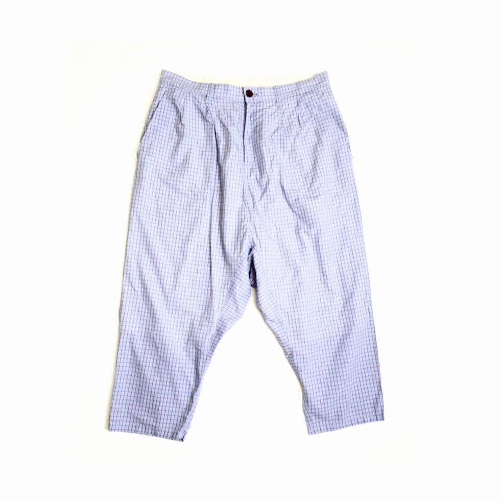 ★デザイナーズ★ DIGAWEL ライトコットン ワイド テーパード パンツ サイズ2 ディガウェル 日本製 サルエルパンツ
