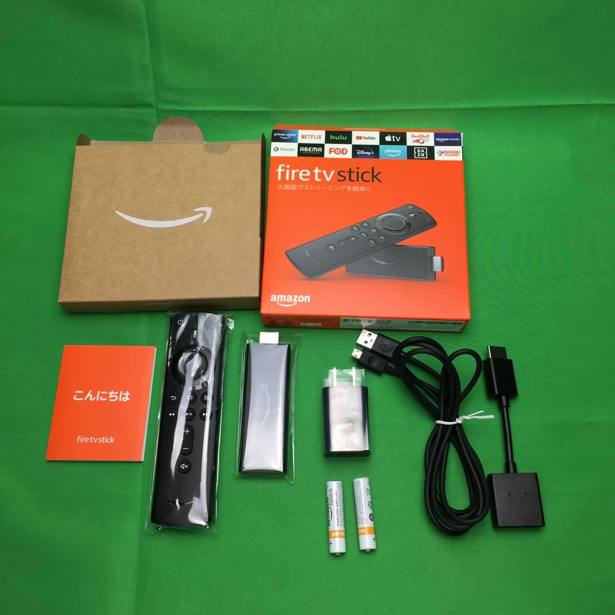 ★美品★ Amazon Fire TV Stick Alexa対応音声認識リモコン ストリーミングメディアプレーヤー アマゾン ファイアースティック
