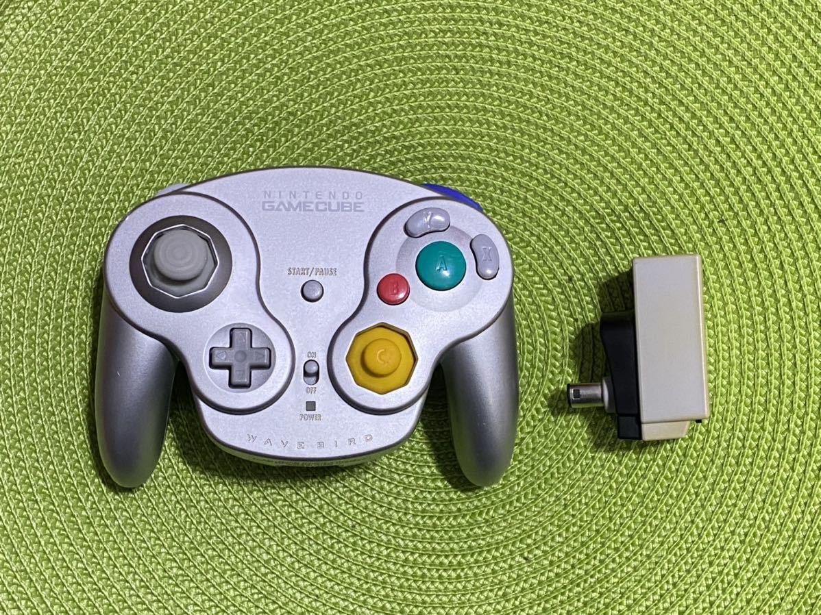 【動作未確認】ゲームキューブ用 ワイヤレスコントローラー ウェーブバード