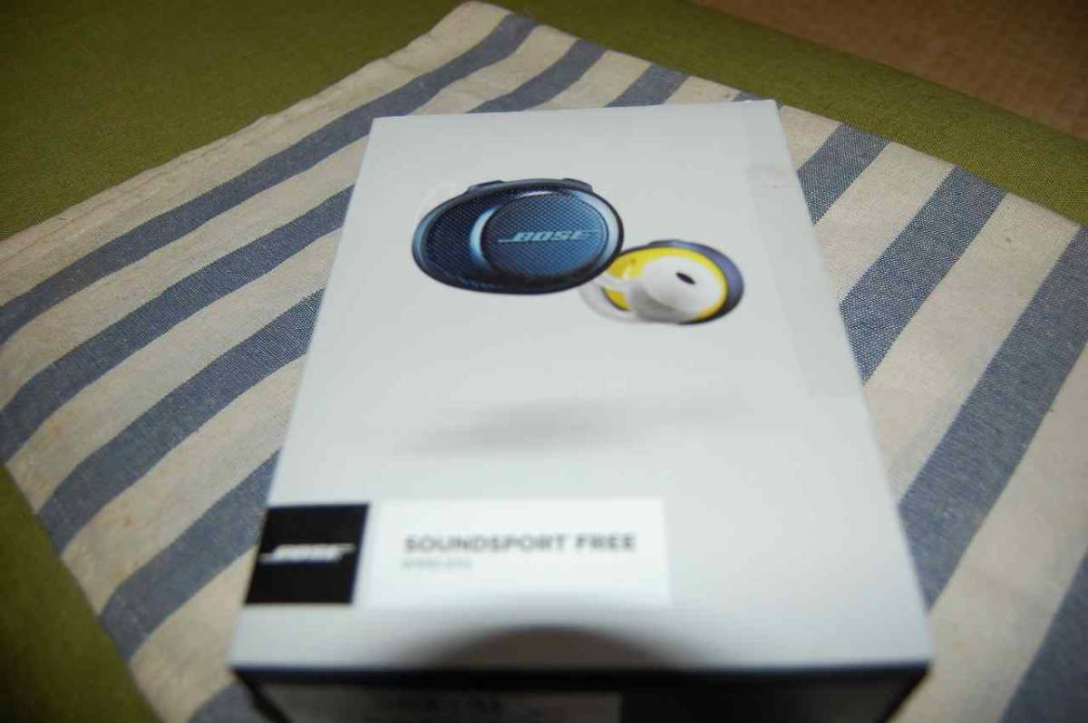 BOSE SoundSport Free wireless headphones/ ボーズ サウンドスポーツ フリー ワイヤレス イヤホン の中古美品