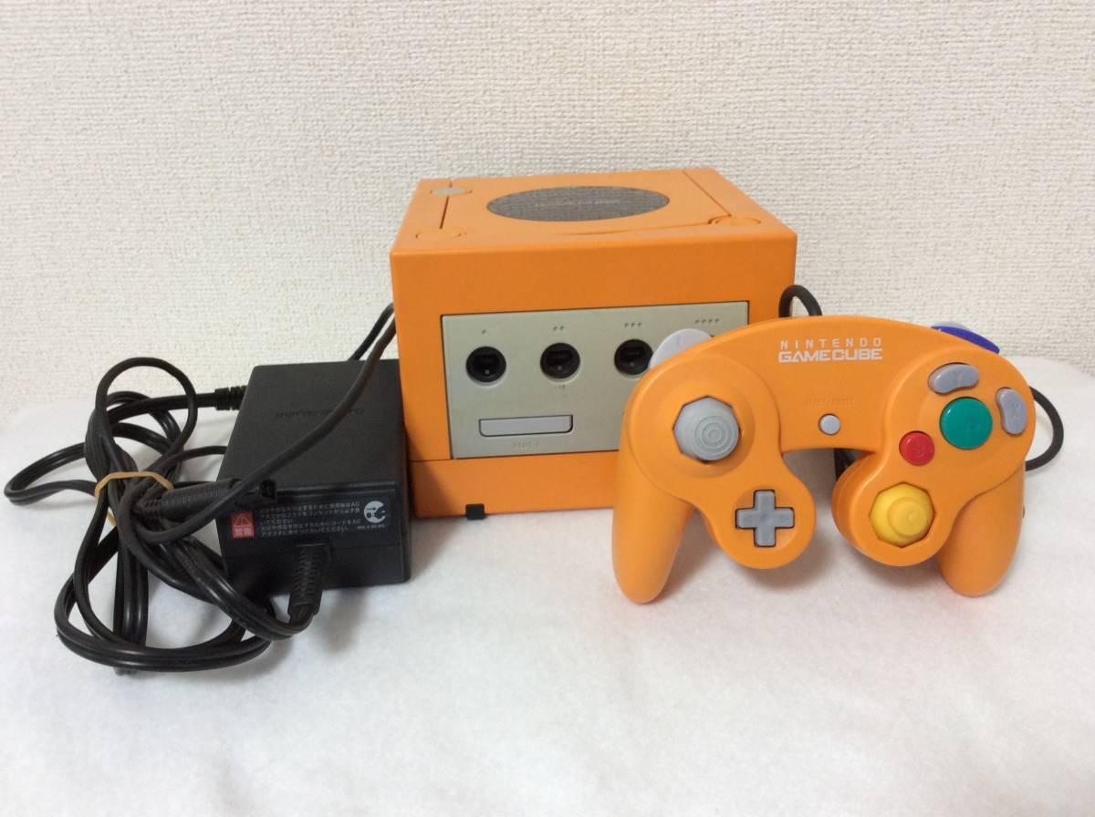 GAMECUBE ニンテンドーゲームキューブ オレンジ DOL-001 ジャンク