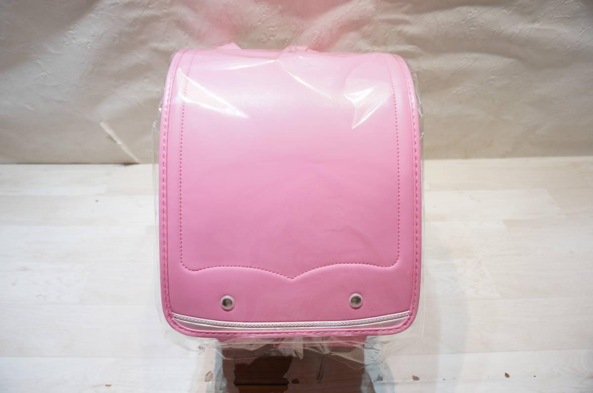 【K17A】未使用保管品 ランドセル ピンク 女の子用 メーカー不明