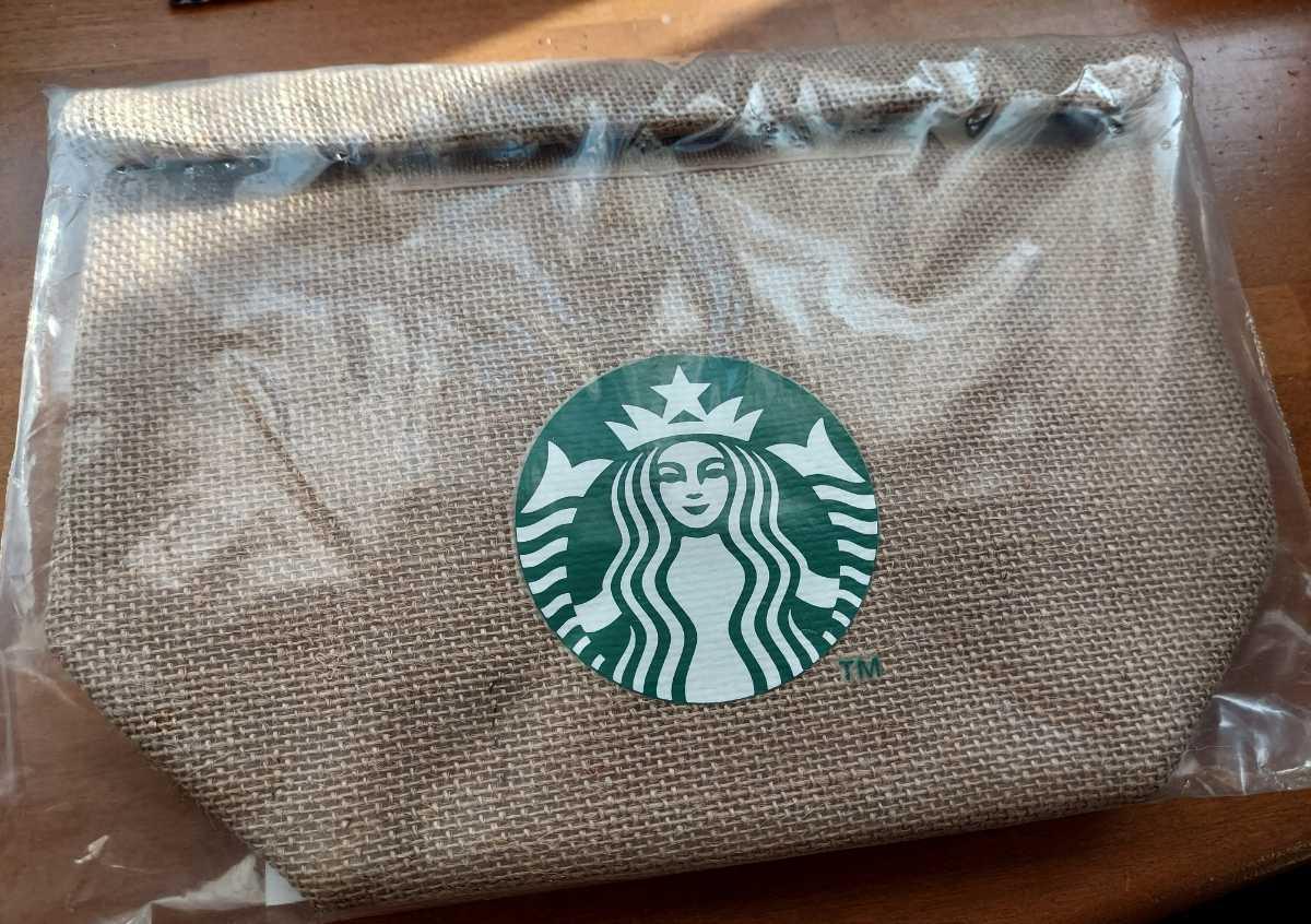 ☆送料出品者負担☆未開封 スターバックス ランチバッグ 保冷 福袋2021 弁当用品