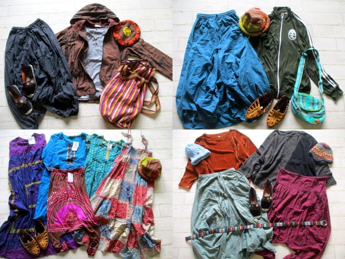 ●レディース エスニック 民族柄 福袋 まとめて まとめ売り 40点 セット 大量 洋服 古着 仕入れ ●225