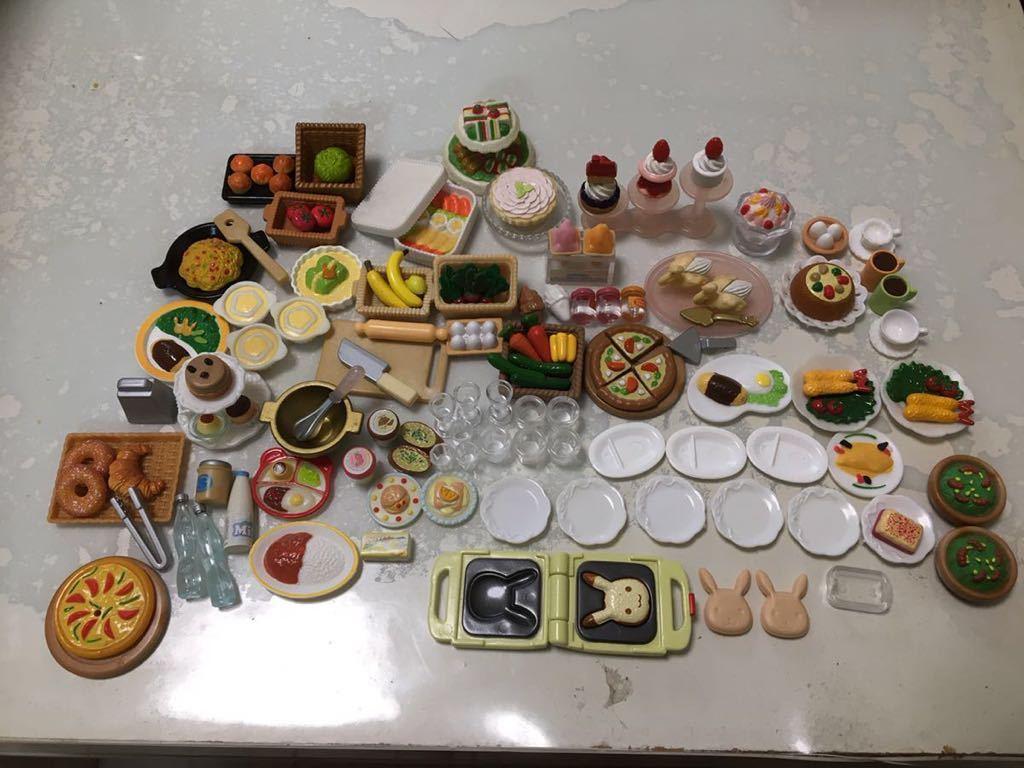シルバニアファミリー スイーツ 食べ物 食器