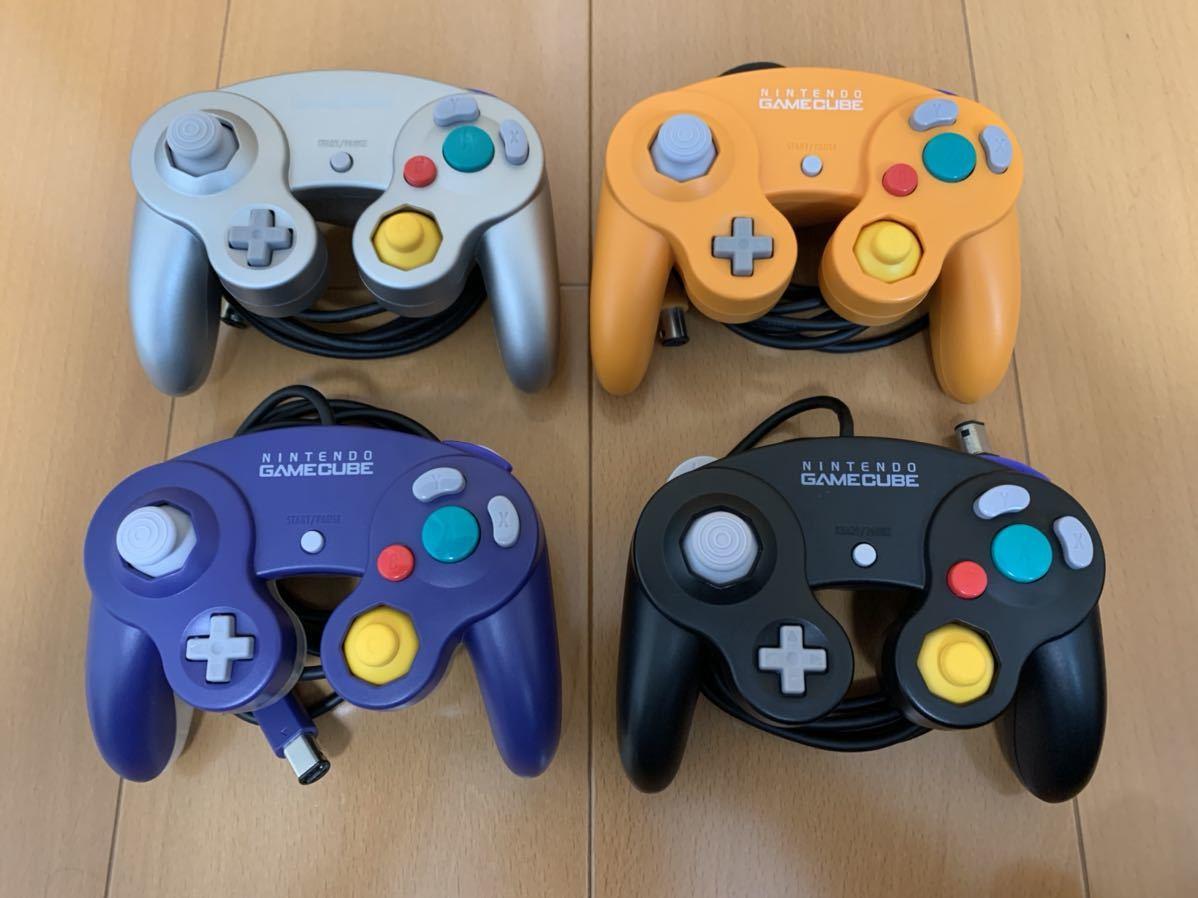ニンテンドー ゲームキューブコントローラー 4色セット 後期型ニンテンドースイッチ スマブラ