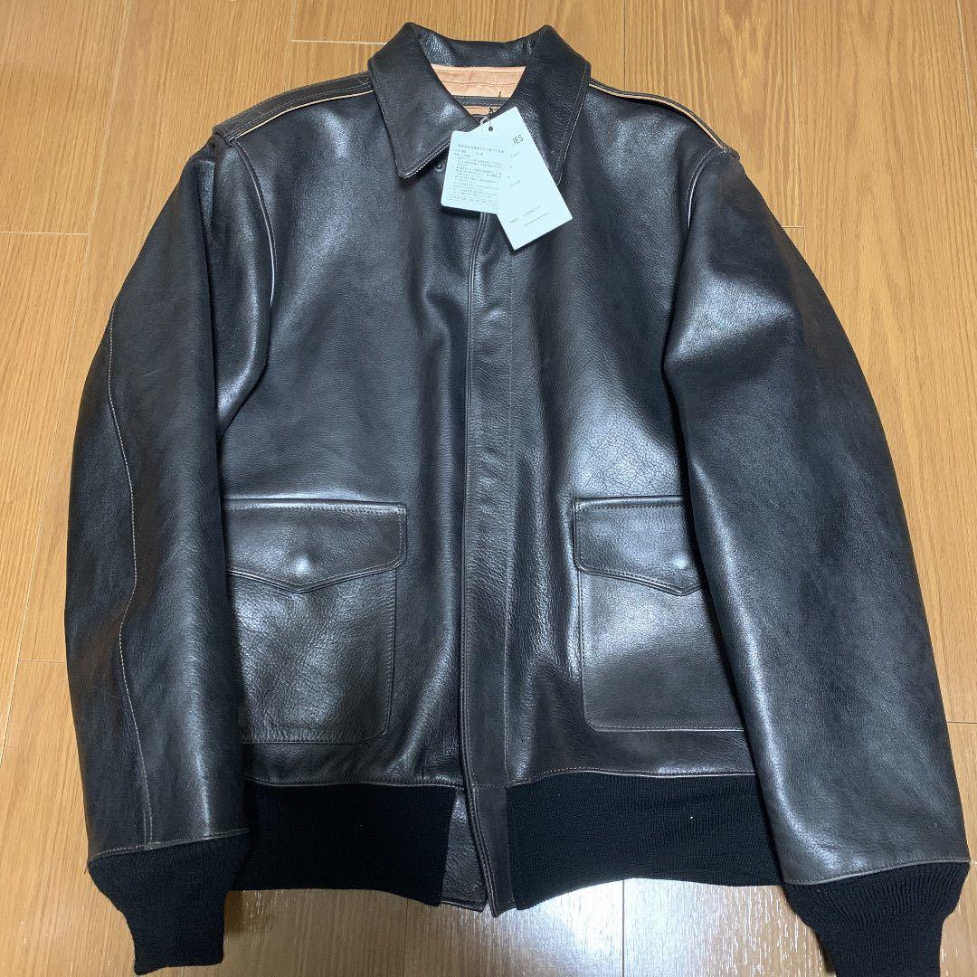 WACKO MARIA レザー ジャケット ワコマリアA-2 フライトジャケット リアルマッコイズ バズリクソンズ 東洋エンタープライズ