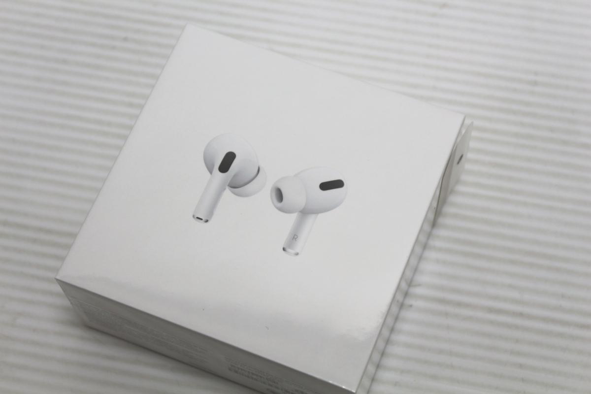1円~【★13-2607】■新品■AirPods Pro エアポッズプロ Apple MWP22J/A A2083 A2084 A2190 ワイヤレスイヤホン