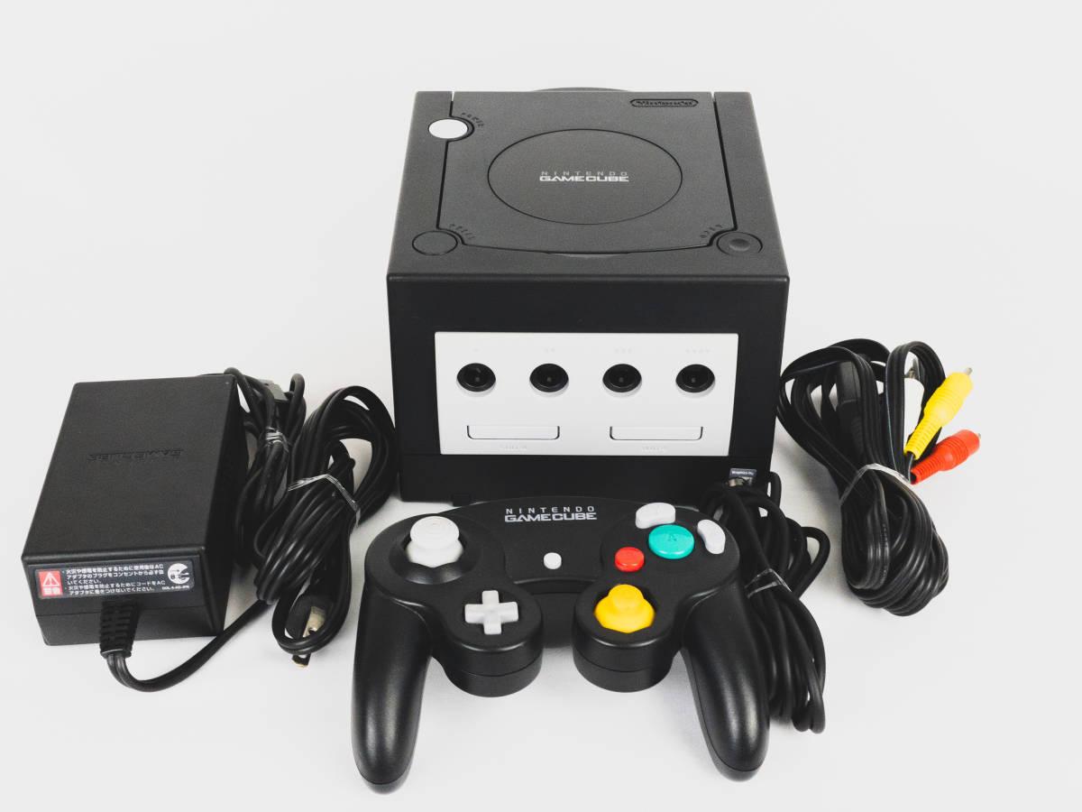 【超美品・メンテ済み】任天堂ゲームキューブ DOL-001 ブラック コントローラー