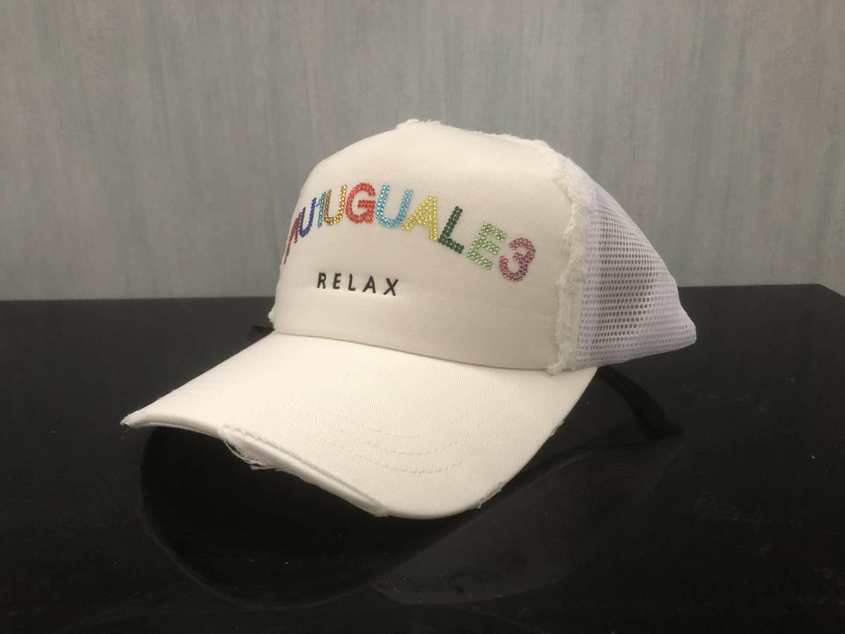 1PIU1UGUALE3 ウノピゥウノウグァーレトレ ウノピュウノ CAP キャップ 帽子 メンズ AKM wjk ブラック ウノピュウ ホワイト 白
