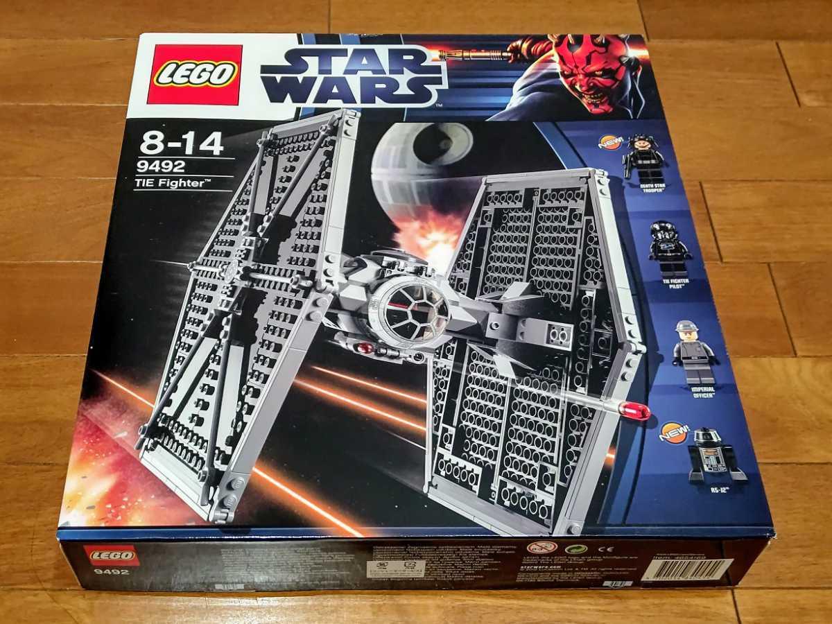 1円~レゴ★レアレゴ レゴ (LEGO) スター・ウォーズ タイ・ファイター(TM) 9492 未開封・新品 LEGO SW 激レア ラスト予定