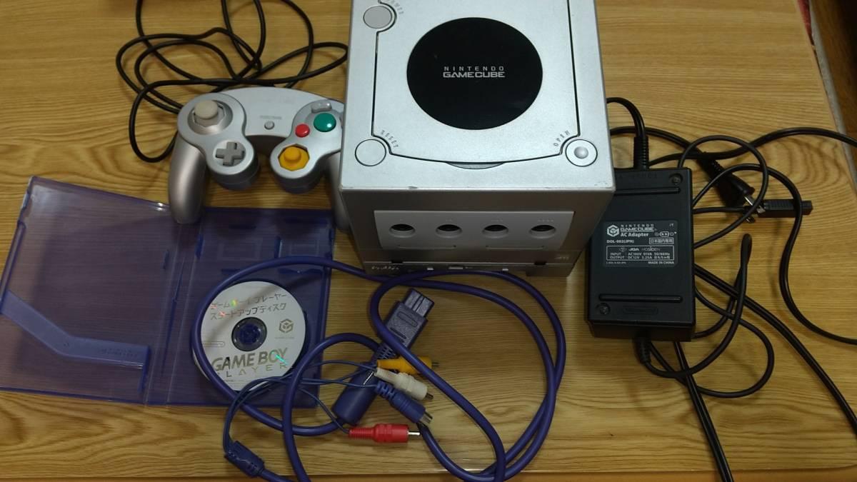 任天堂 GC ゲームキューブ 本体 + ゲームボーイプレーヤー 一式セット