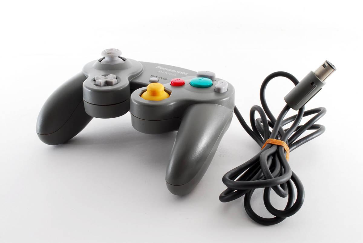 【美品】 Panasonic ゲームキューブ コントローラー SH-TGC10 希少 GC SL-GC10 パナソニック 任天堂