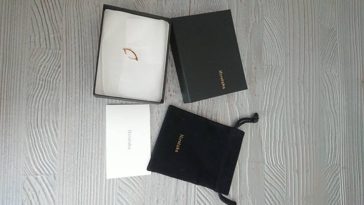 hirotaka イヤーカフ K18 ダイヤモンド  バーニーズ購入