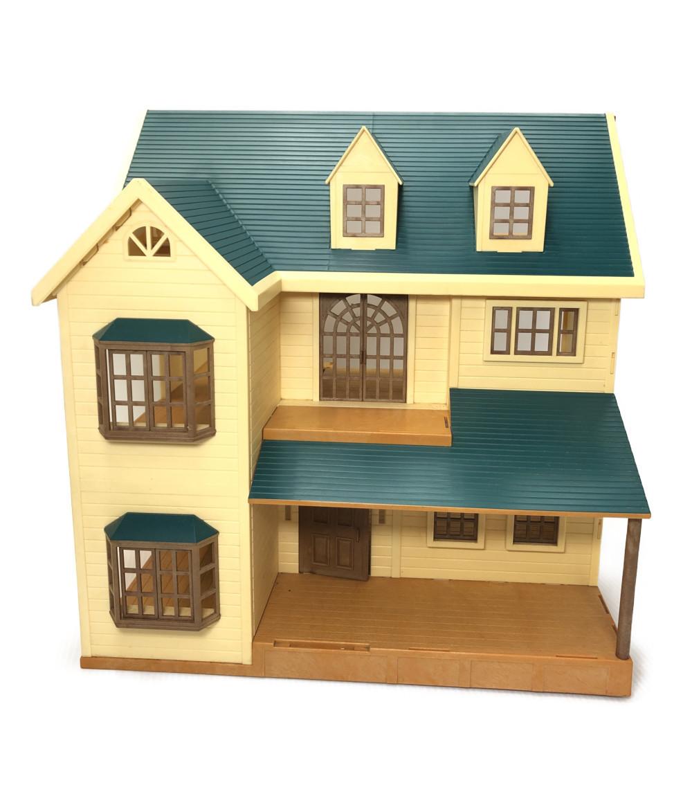 【1円スタート】 シルバニアファミリー 緑の丘のすてきなお家 / 小物 まとめ売り エポック社