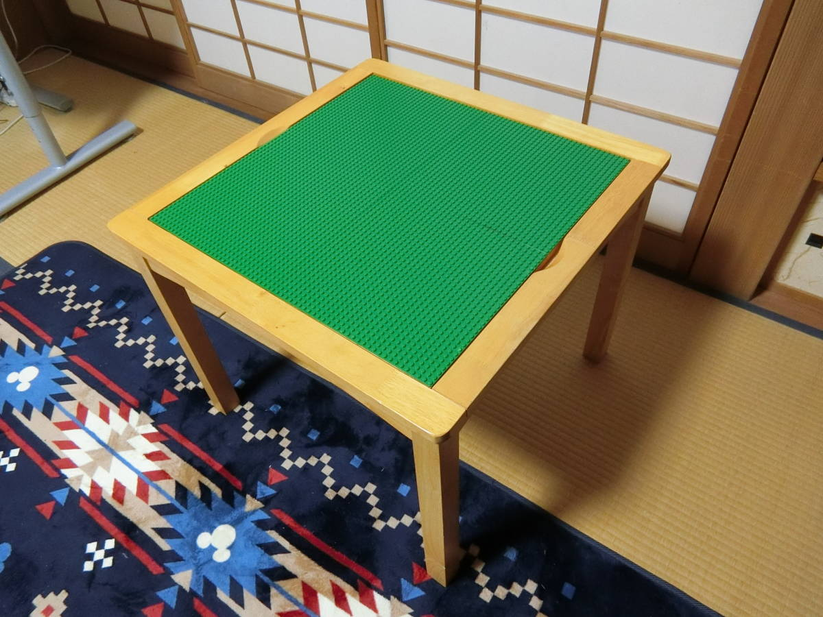 激レア商品 LEGO レゴブロック正規品 レゴ ローテーブルセットLEGO Imaginarium Activity Table and Chair Set レゴ 木製