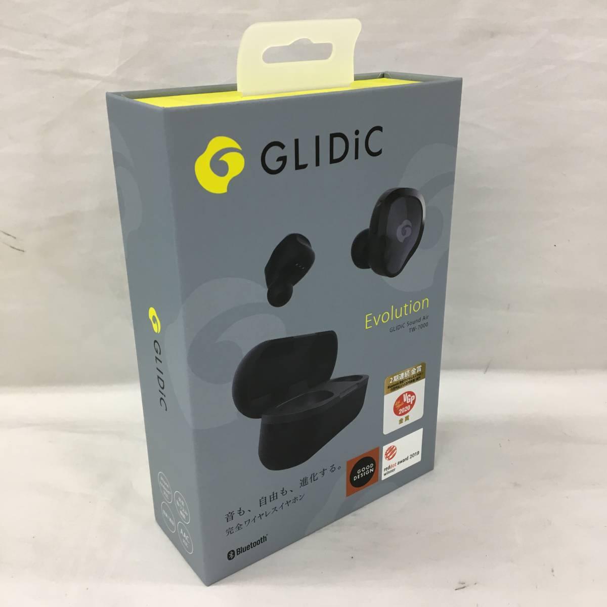 【952384】GLIDIC Sound Air TW-7000 アーバンブラック 完全ワイヤレスイヤホン Bluetooth