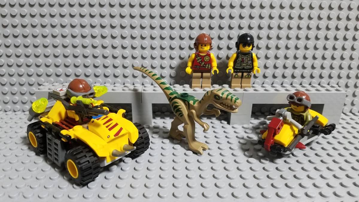 レゴ ダイノ ラプトル 恐竜ハンター ミニフィグ バギー 正規品 大量出品 同梱可能 LEGO