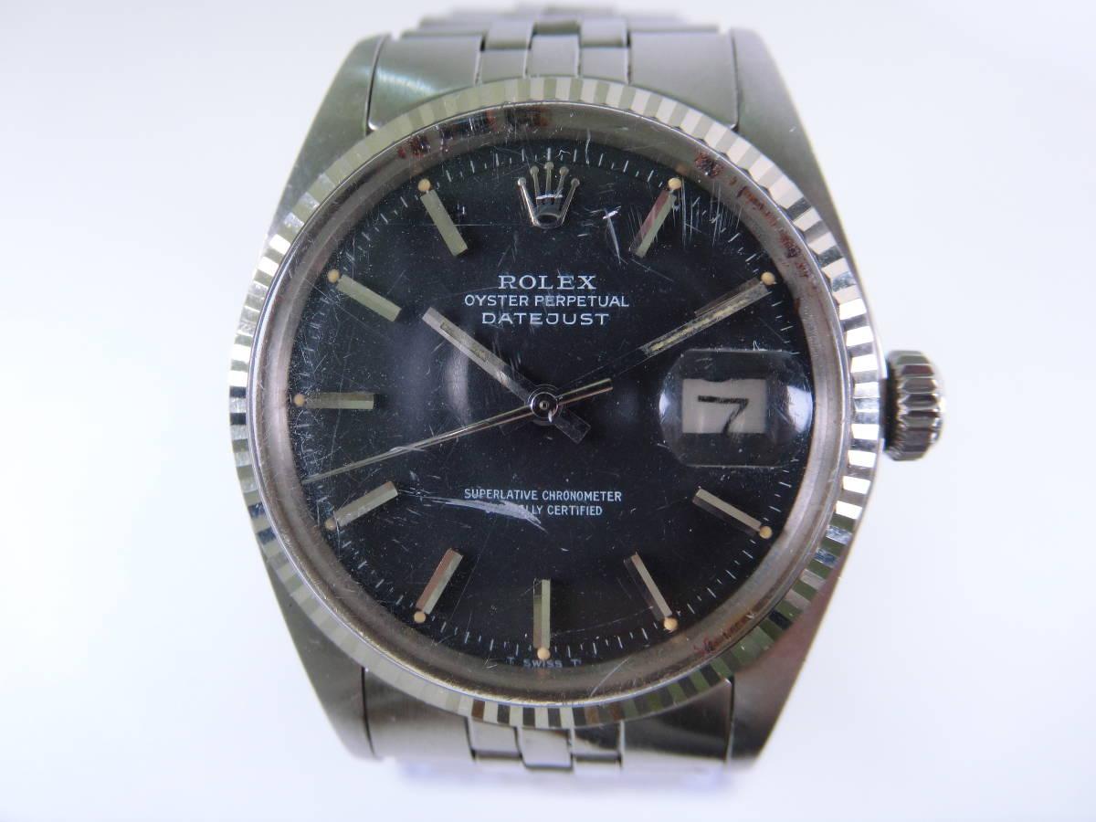 W0306-298 3314 腕時計 ロレックス ROLEX 1601 デイトジャスト DATEJUST メンズ 自動巻き