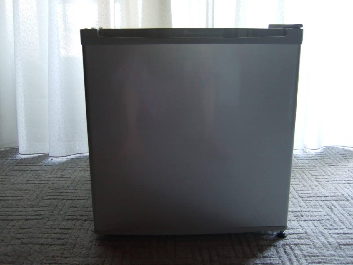 ☆ 美品 1ドア冷凍庫 32L シルバー 直冷式 小型 コンパクト スリム 静音 右開き 左開き TOHOTAIYO TH-32LF1-SL ☆