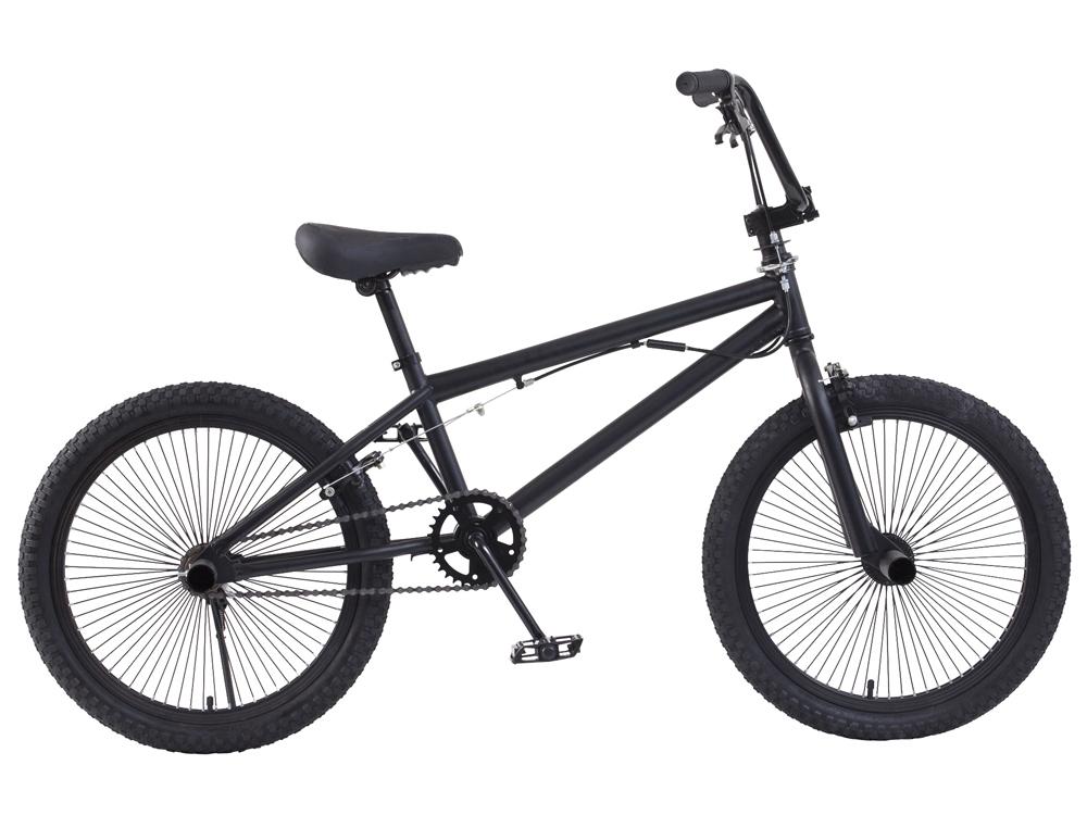 BMX ジャイロ搭載フリースタイル 20インチ 訳ありアウトレット品 自転車 ピストバイク サイクル 本体 ジャイロ 車体 黒