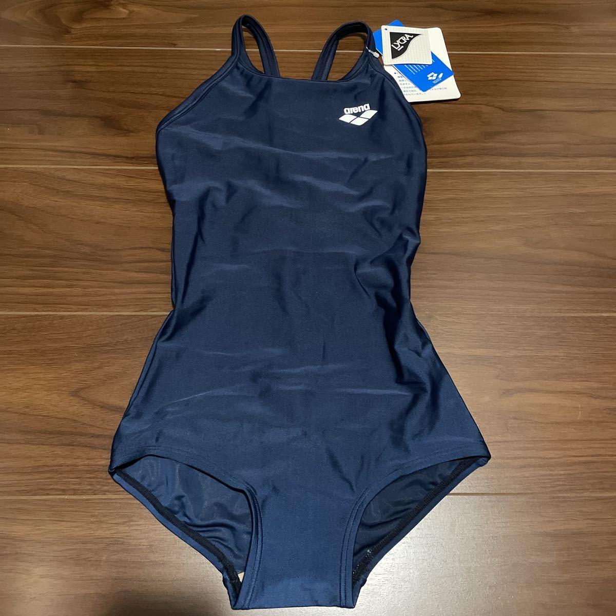 新品 アリーナ arena スクール水着 レディース 競泳水着 ARN-185W ネイビー M タグ付き 女の子 コスプレ