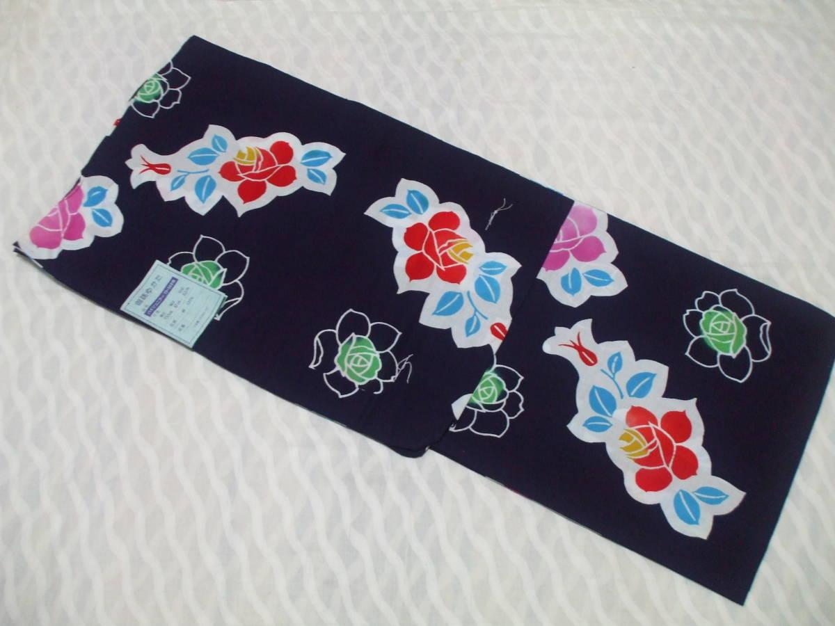 女の子 子供浴衣 御誂ゆかた ジュニア用 日本製 綿100%