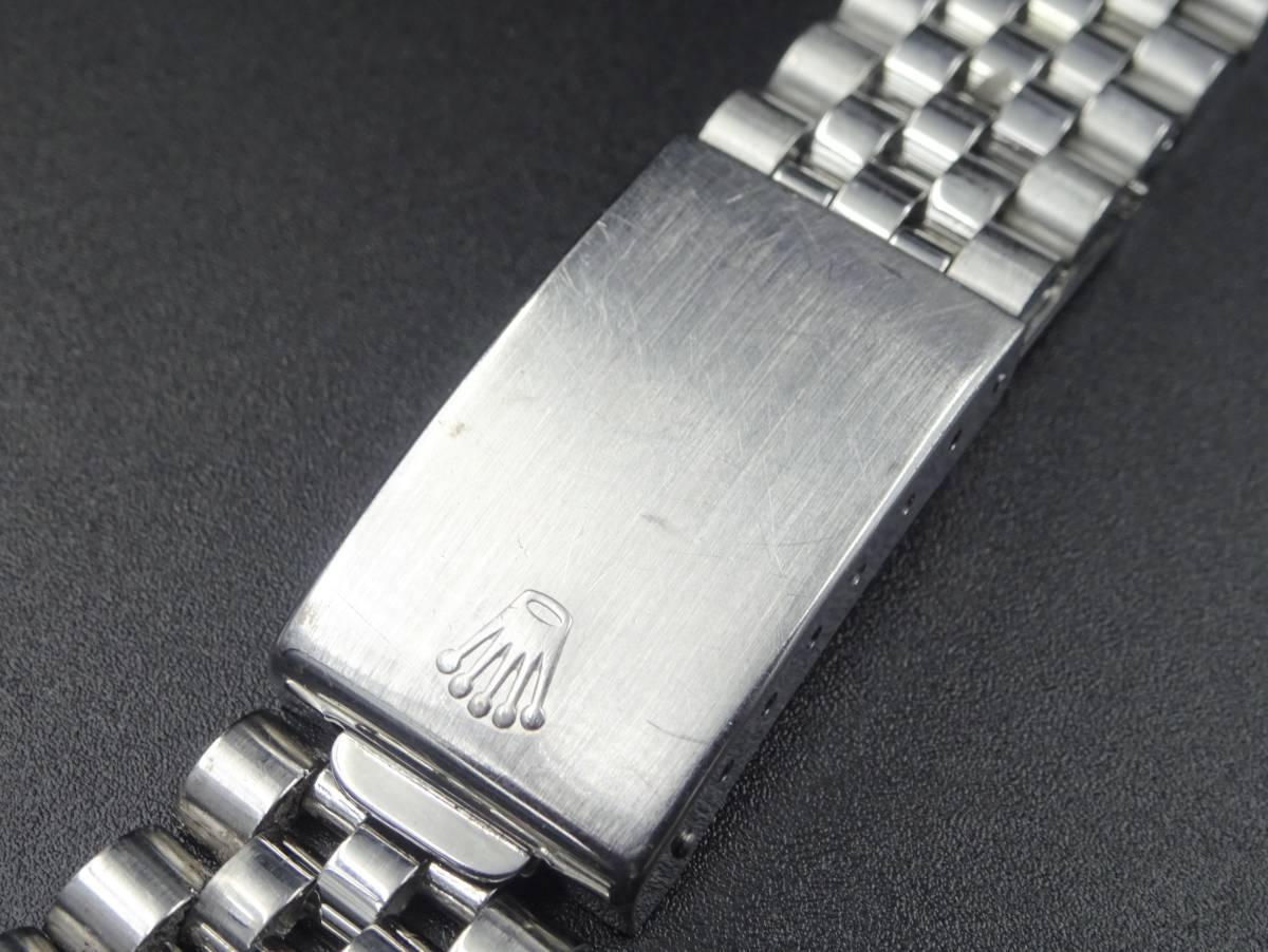 1円 ROLEX ロレックス 純正ジュビリーブレス 62510H 取付幅20mm用 SS5連 ベルト ヴィンテージ メンズ 時計 パーツ 9