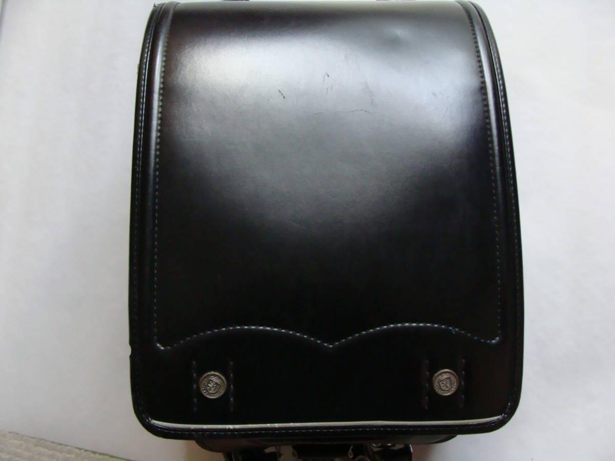 中古ランドセル(黒色) 程度よし セイバン 日本製 簡易クリーニング済み