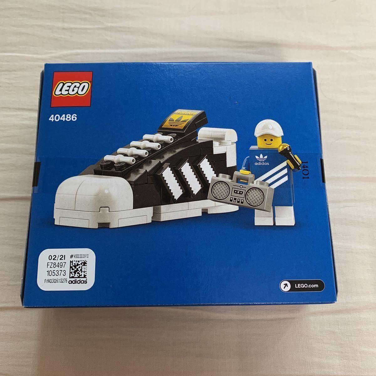 LEGO 40489 非売品 adidas アディダス ミニフィグ