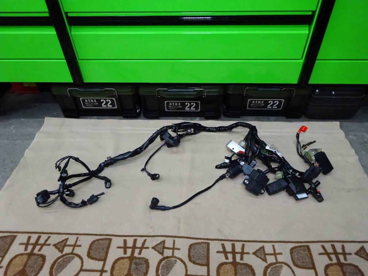 モンキー125 ABS JB02 純正メインハーネス 低走行 美品 破れ無し 検索 ABS Monkey 125 グロム GROM ヨシムラ 武川 Gクラフト OVER RACING
