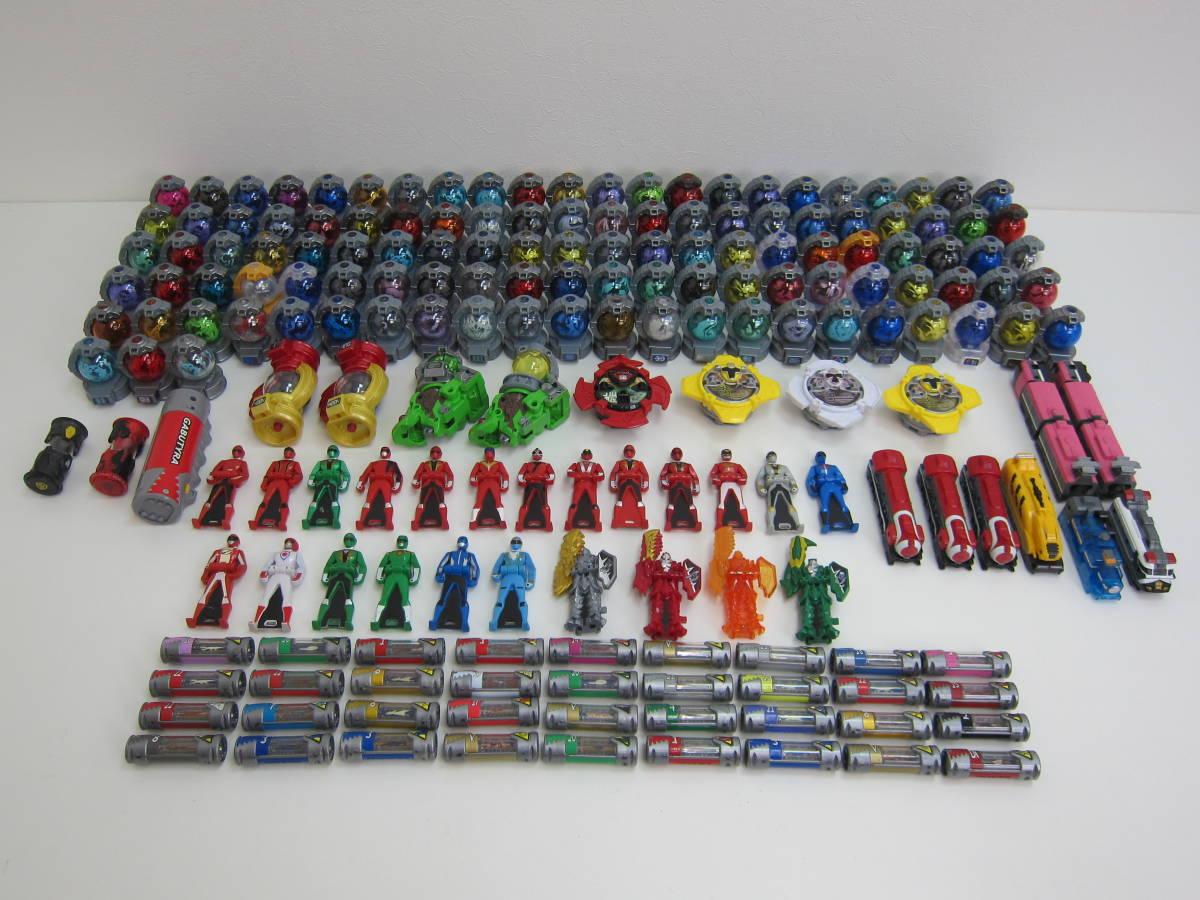 210907F☆★ キュウレンジャー キョウリュウジャー リュウソウジャー キュータマ 獣電池 パーツ 色々 大量 まとめ セット おもちゃ ★☆