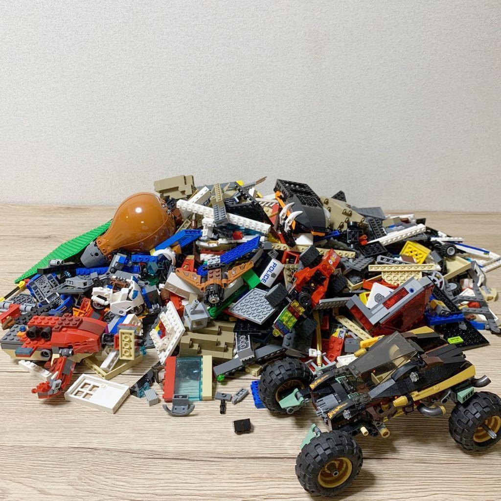 ◆ LEGO レゴ 大量まとめて 4kg パーツ色々 ニンジャゴー シティ他